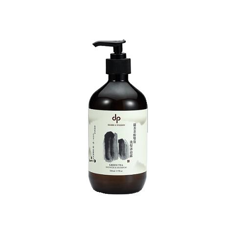 dp 綠茶茶酚雙效洗髮沐浴露(二合一)